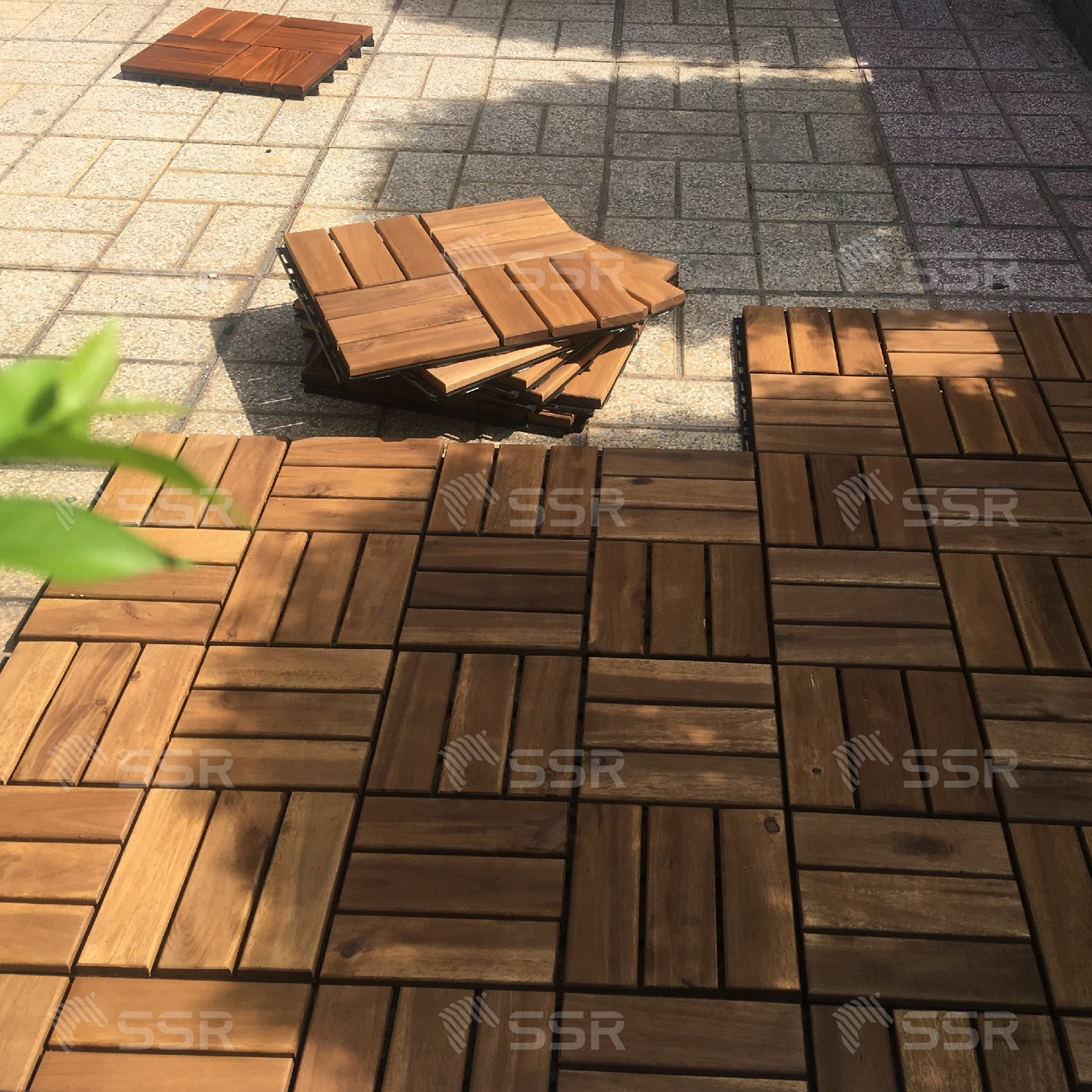Deck Tile Flooring Decking Acacia Wood Industry Global Commerce Trade International Wood Products Supplier Wholesale FSC Certified