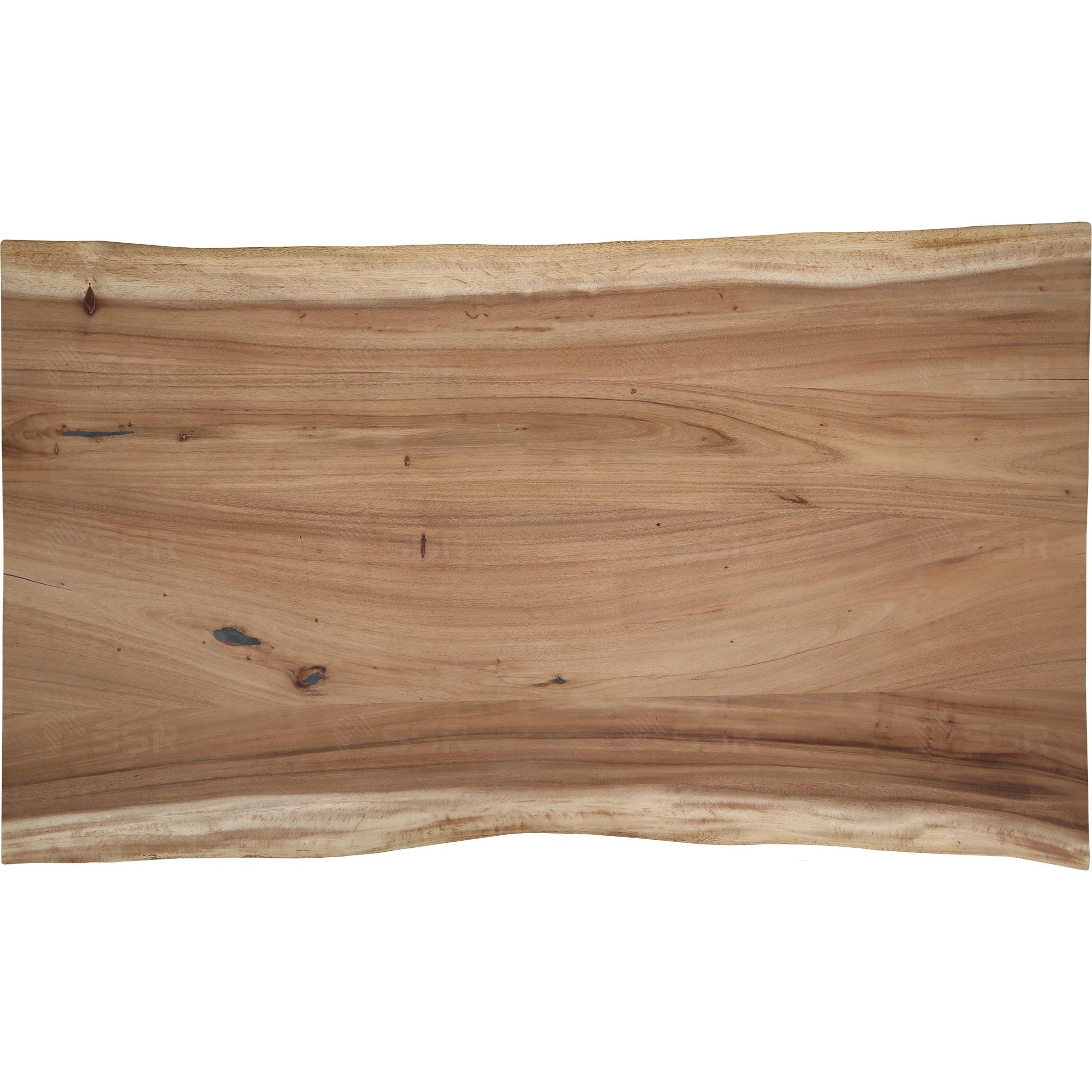 Arbre à pluie Samanea Saman Revêtement d'huile Finition à l'huile Live Edge Bord naturel Dalle en bois L'industrie du bois Global Commerce Fournisseur international de produits en bois De gros Certifié FSC Importation Exportation