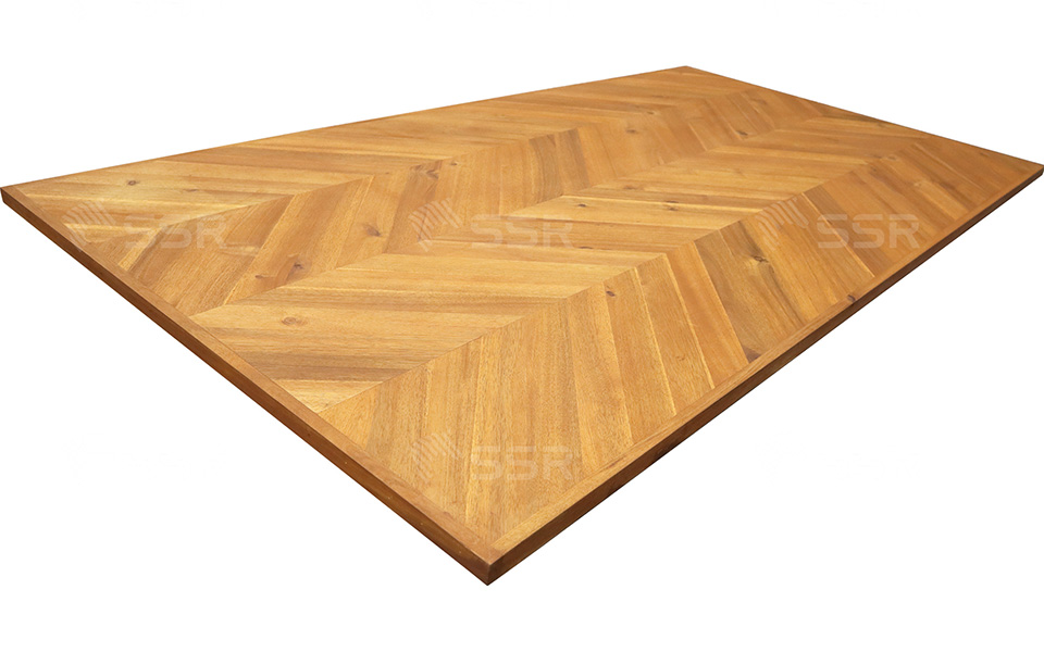 Acacia Herringbone Wood Plank Wood Panel Wood Board Varnish Oil Coating Oil Finish Wood Industry Global Commerce Trade International Wood Product Supplier Wholesale FSC Certified International Business Import Export