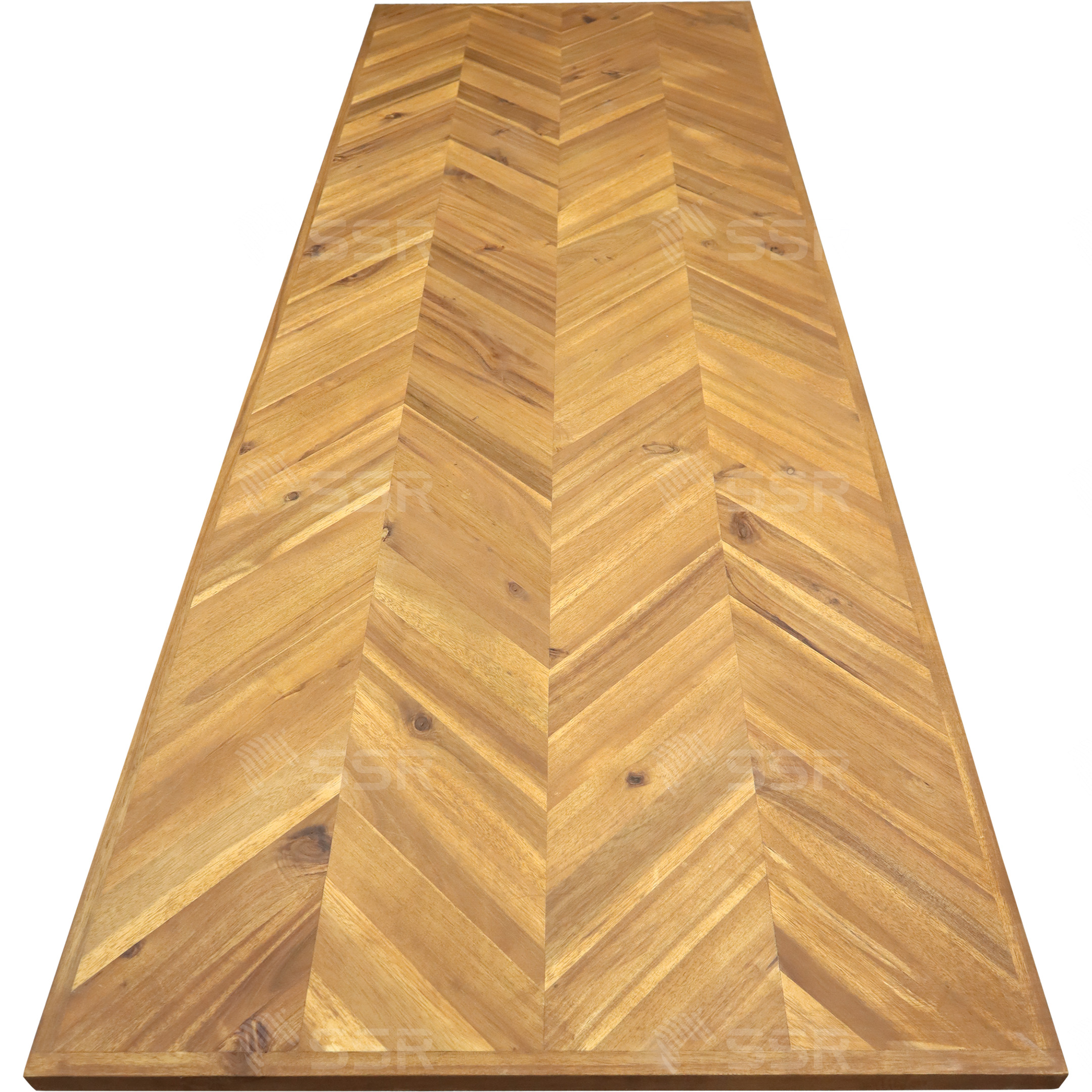 Acacia Chevrons Panneau de bois Planche de bois Bois vernis Revêtement d'huile Finition à l'huile L'industrie du bois Global Commerce Fournisseur international de produits en bois De gros Certifié FSC Commerce international Importation Exportation