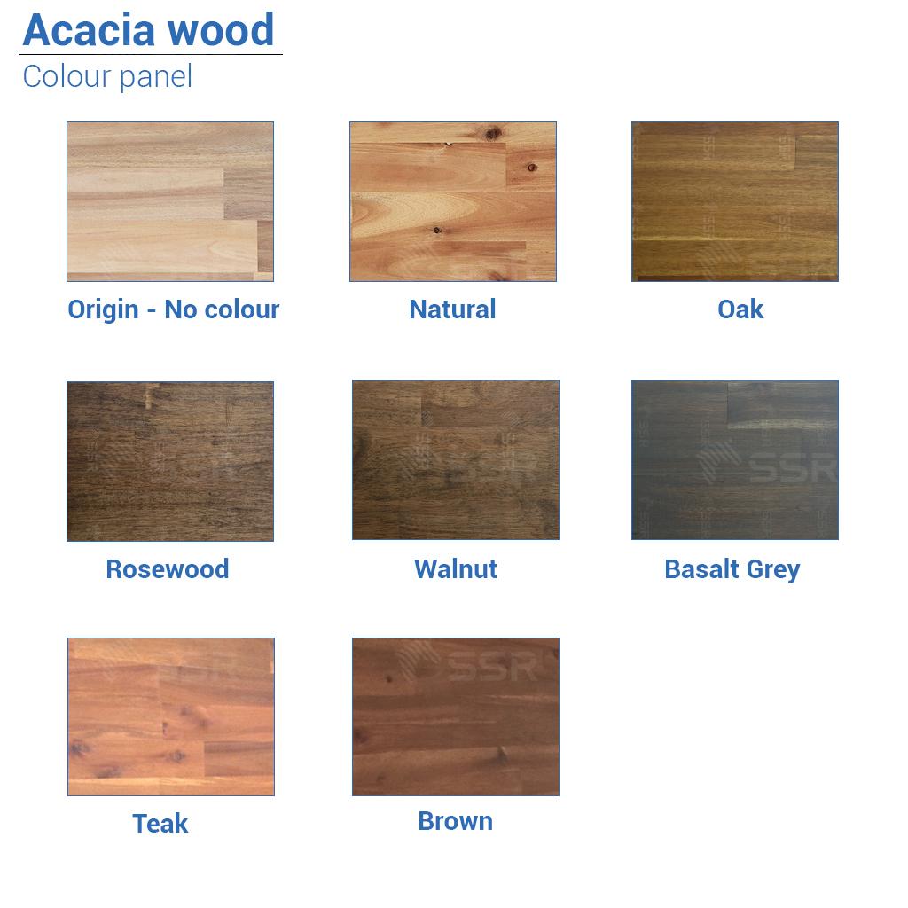 Acacia Bois massif Bois dur Joint en bois Planche de bois Panneau en bois L'industrie du bois Fournisseur international de produits en bois Certifié FSC Importer Exporter