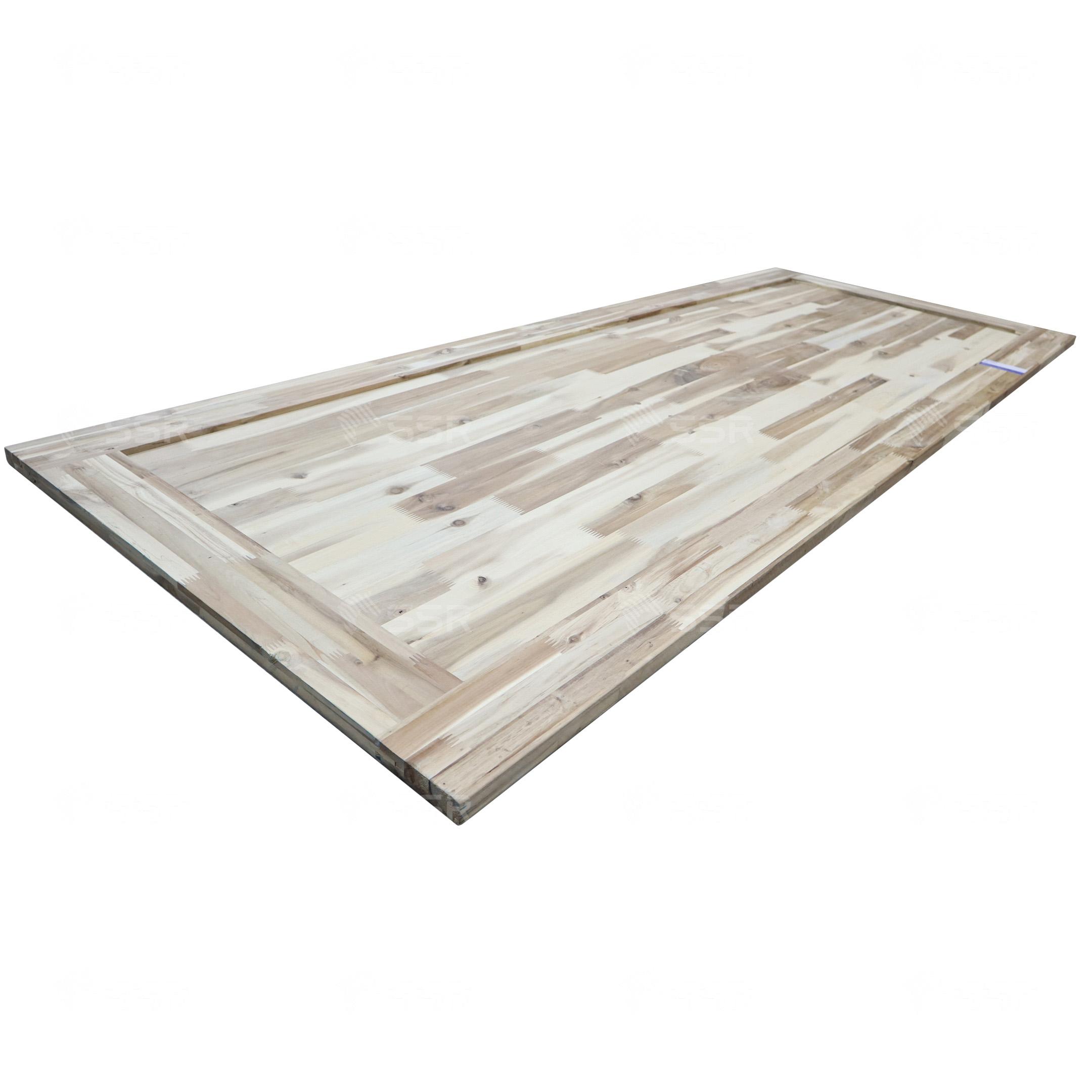 아카시아 목제 문 단단한 나무 천연 나무 단단한 나무 나무 판자 목재 패널 나무 보드 목재 산업 국제 목재 제품 공급 업체 FSC 인증