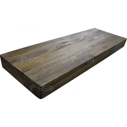 Acacia Bois massif Bois dur Planche de bois Panneau de bois Planche de bois Bois vernis Revêtement d'huile Finition à l'huile Bloc de bois Plan de travail Dessus de la table L'industrie du bois Fournisseur international de produits en bois Certifié FSC