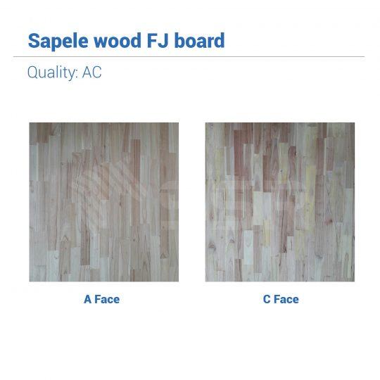 Sapeli Sapele Bois massif Bois dur Joint en bois Planche de bois Panneau en bois L'industrie du bois Fournisseur international de produits en bois Certifié FSC Importer Exporter