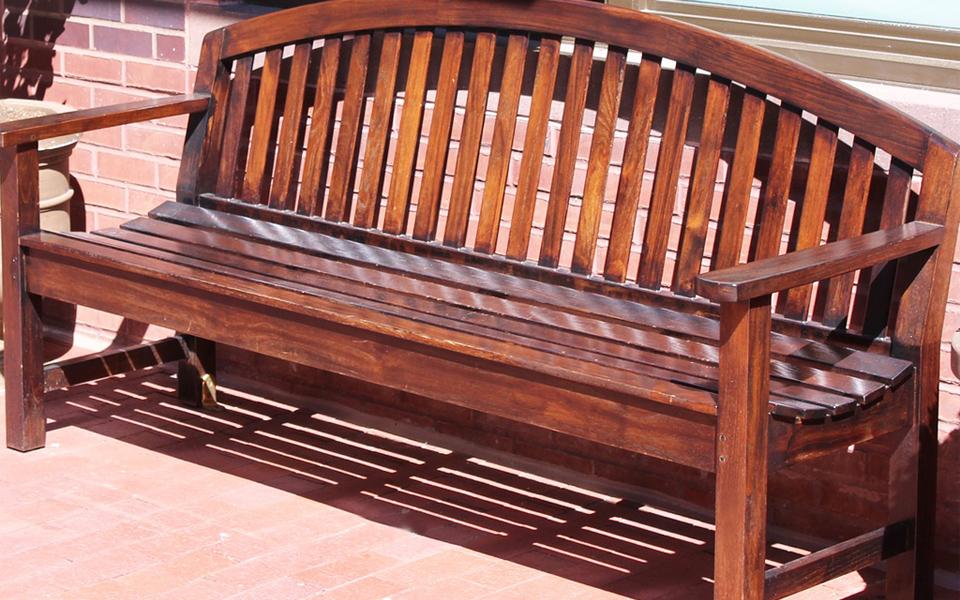 Outdoor bench Wooden bench Outdoor wooden bench Garden wood bench