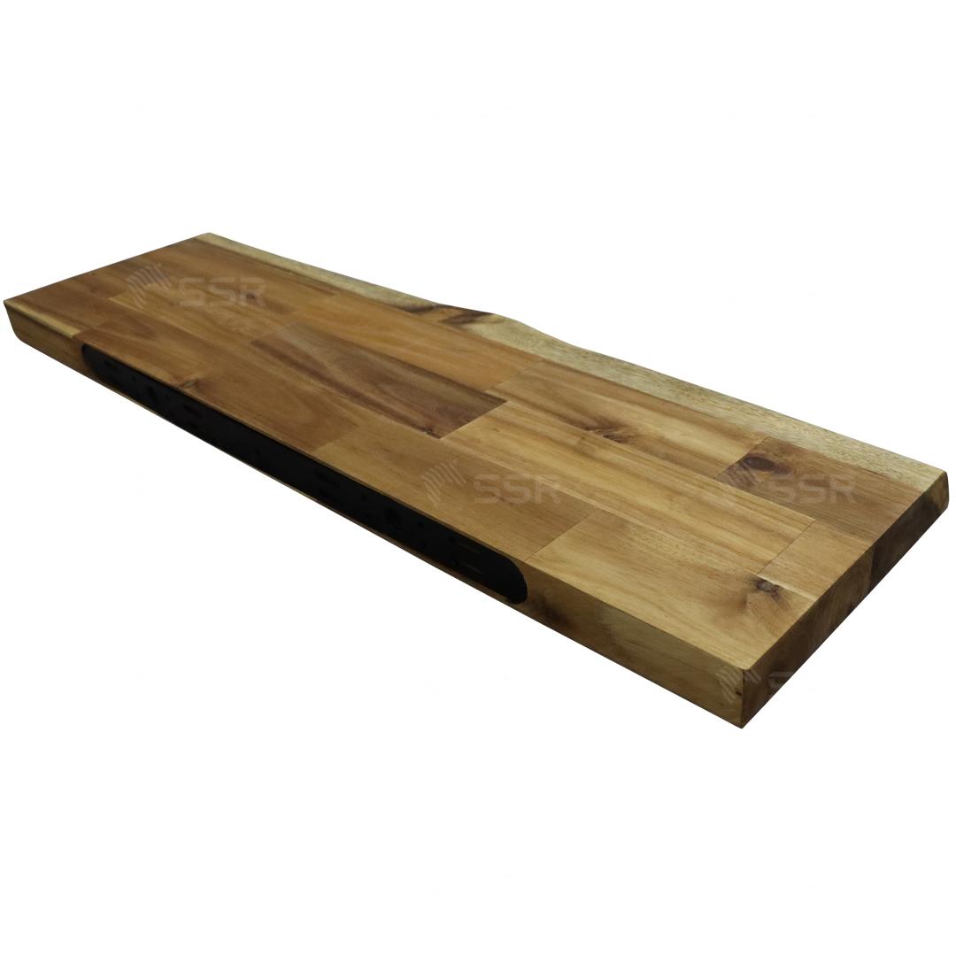 Floating shelf Wall shelves Display shelves Furniture Rubberwood Acacia Oak Wood Industry International Wood Product Supplier Wholesale FSC Certified Import Export