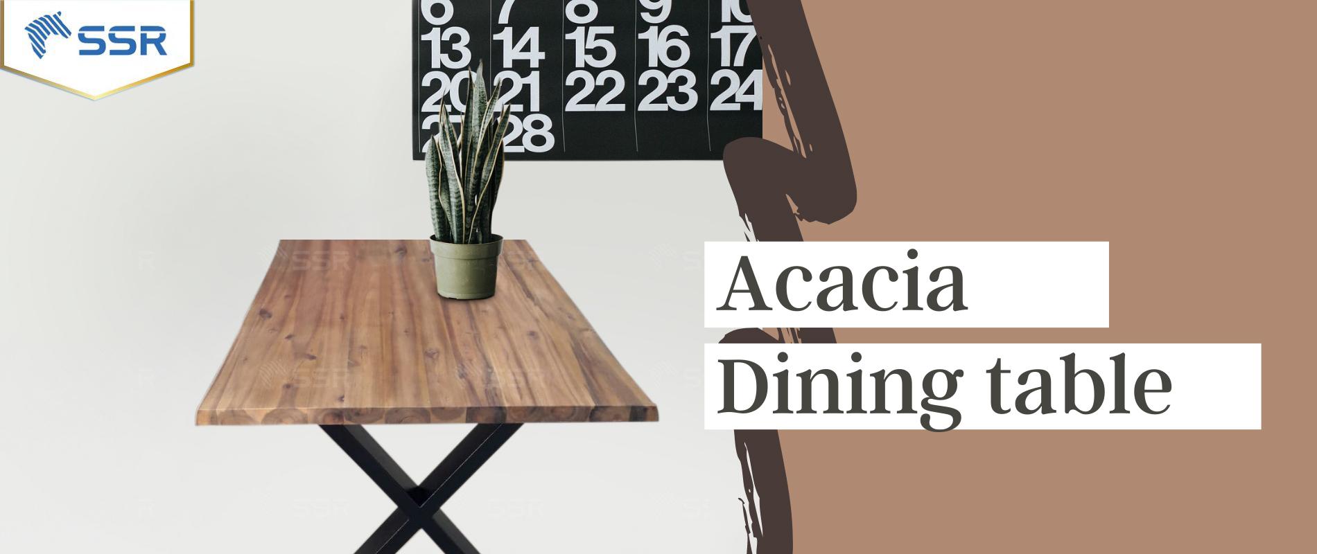 Table de jardin Table de travail Table à manger Meubles Bois d'hévéa Acacia Chêne L'industrie du bois Fournisseur international de produits en bois De gros Certifié FSC Importation Exportation