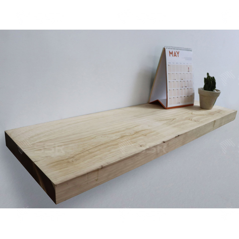 Floating shelf Wall shelves Display shelves Furniture Rubberwood Rubber wood Acacia Oak Wood Industry International Wood Product Supplier Wholesale FSC Certified Import Export