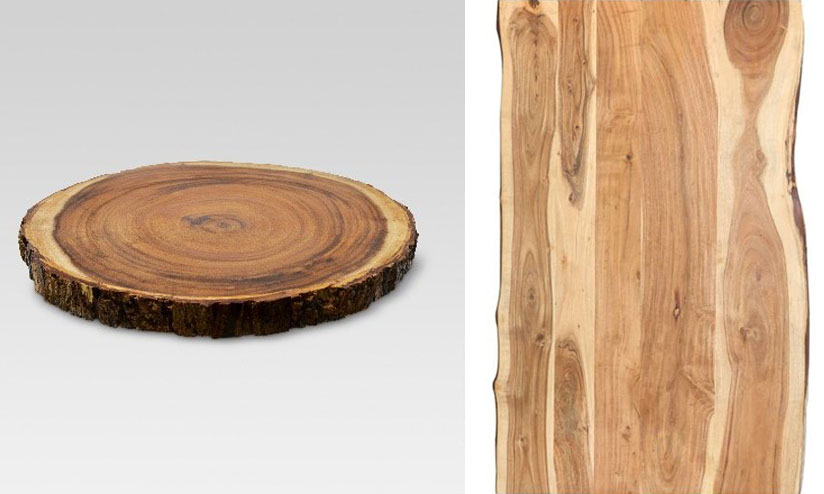 The color and pattern of acacia wood-3
